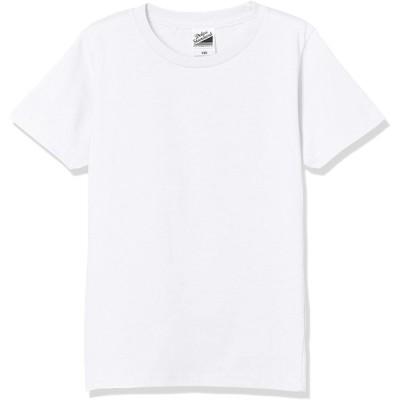 [ダルク] 半袖 DM030 キッズ ホワイト 160cm (日本サイズ160相当)
