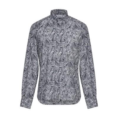 アリーニ AGLINI シャツ ダークブルー 39 コットン 97% / ポリウレタン 3% シャツ