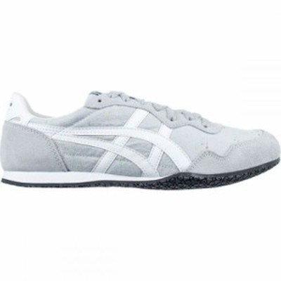 アシックス スニーカー Onitsuka Tiger Serrano Shoe Mid Grey/White
