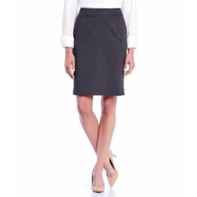 カルバンクライン レディース スカート ボトムス Pencil Skirt Charcoal