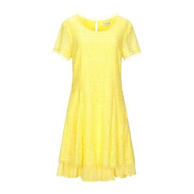 シルビアンヒーチ SILVIAN HEACH ミニワンピース&ドレス イエロー S ナイロン 100% ミニワンピース&ドレス