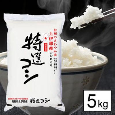 【5kg】 令和元年産長野県伊那産コシヒカリ白米5kgx1袋