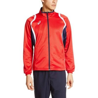 [アシックス]トレーニングウエア デコトレーニングジャケット XAT12D [メンズ] メンズ レッド 日本 S (日本サイズS相当)