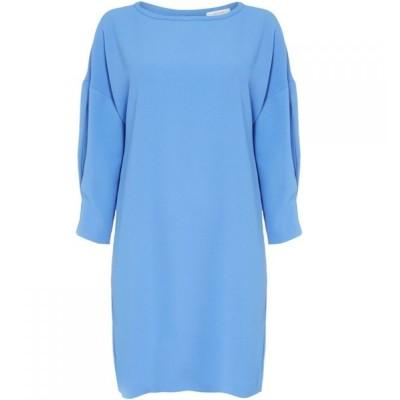 イブルース Iblues レディース ワンピース シフトドレス ワンピース・ドレス Gaff shift dress Blue