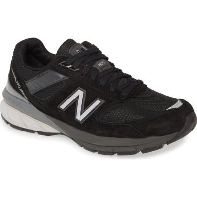 ニューバランス NEW BALANCE レディース スニーカー シューズ・靴 990v5 Sneaker Black