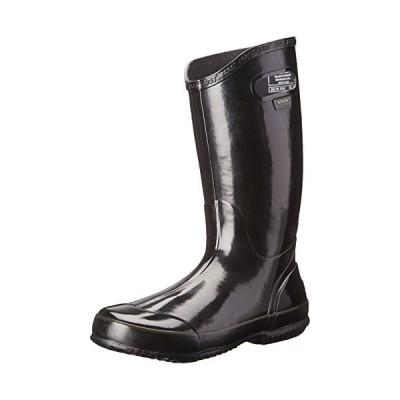 Bogs レディース Rainboot 防水 ブーツ,ブラック,6 M US(海外取寄せ品)