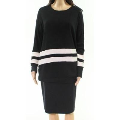 American  ファッション トップス American Rose NEW Black Womens Size Medium M Ribbed Pullover Sweater