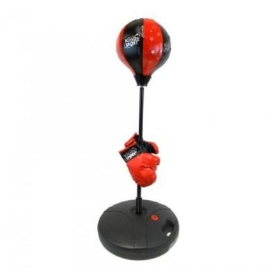 ボクシング用品 プロ供ボクサーの供の手袋、調節可能な高さ 48 w自立反射パンチングを初め