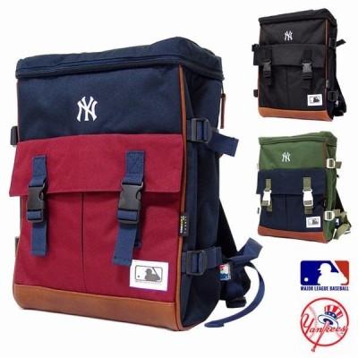 リュックサック デイパック メンズバッグ メンズファッション 大人気 NYロゴ刺繍 耐久性に優れる コーデュラ素材 ニューヨークヤンキース公認 通勤