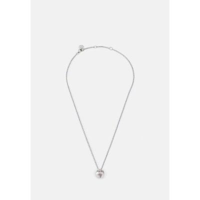 トミー ヒルフィガー ネックレス・チョーカー・ペンダントトップ レディース アクセサリー ORB - Necklace - silver-coloured