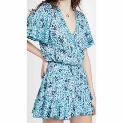 プーペット セント バース Poupette St Barth レディース ワンピース ミニ丈 ワンピース・ドレス Mini Mabelle Ruffled Dress Sky Blue D