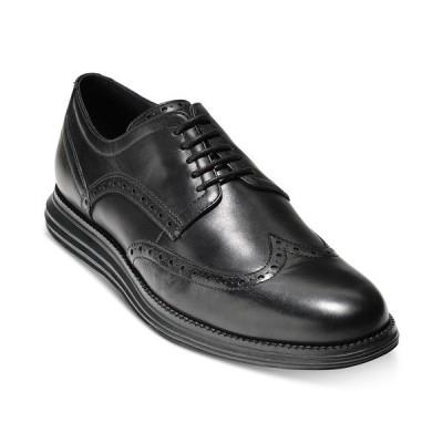 コールハーン オックスフォード シューズ メンズ Men's Original Grand Wing Oxfords Black/ Black