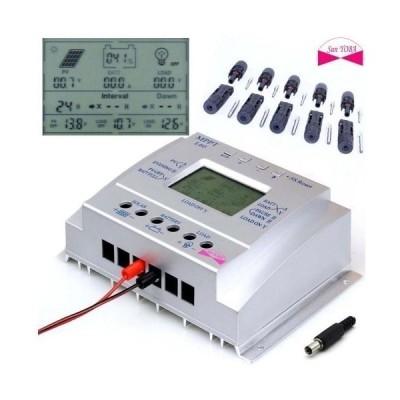 MPPT L60 60Aチャージコントローラー 12V750W/24V1500W自動切換