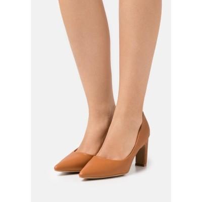 グラマラス ヒール レディース シューズ Classic heels - tan