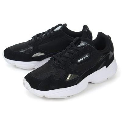 adidas(アディダス) FALCON W(ファルコン ウィメンズ) B28129 ブラック/ホワイト