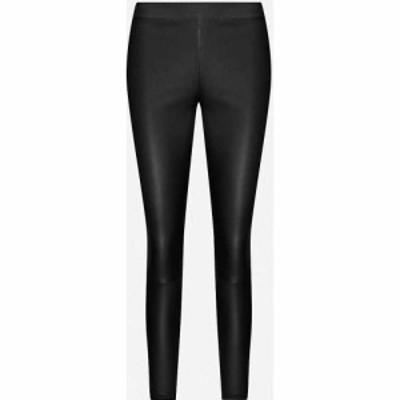 リース REISS レディース ボトムス・パンツ Goldie leather leggings Black