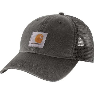 カーハート Carhartt メンズ 帽子 Buffalo Mesh Back Hat Gravel