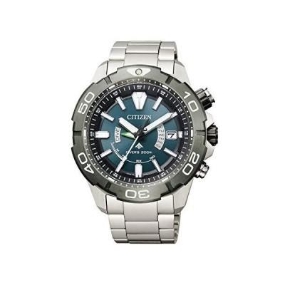 シチズン 腕時計 プロマスター エコ・ドライブ電波時計 MARINEシリーズ ダイバー200M 2019年度グッドデザイン賞受賞 AS714