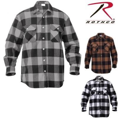 ROTHCO EXTRA HEAVY WEIGHT FLANNEL SHIRT ロスコ シャツ ネルシャツ チェックシャツ