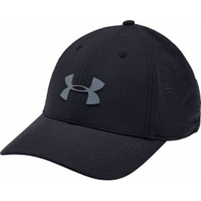 アンダーアーマー メンズ 帽子 アクセサリー Under Armour Men's Driver 3.0 Golf Hat Black/Pitch Gray