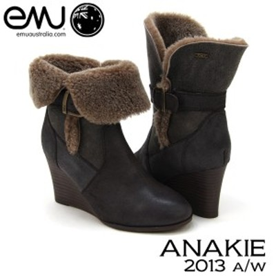 【送料無料】エミュー オーストラリア(EMU Australia) アナキー/アナーキ(ANAKIE) シープスキン ブーツ【2013秋冬モデル】[CC]