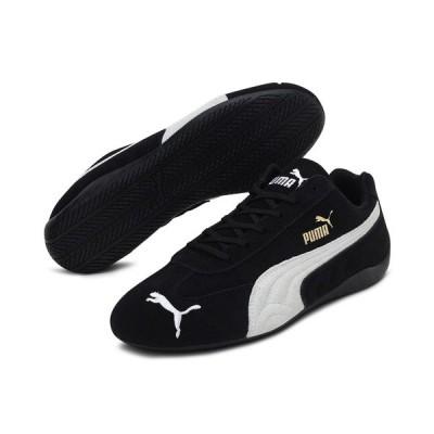 プーマ スニーカー シューズ レディース Women's Speed Cat Casual Sneakers from Finish Line Black, White