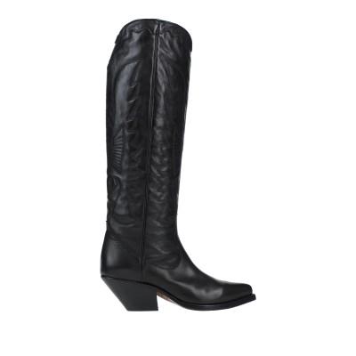ブッテロ BUTTERO® ブーツ ブラック 36 革 ブーツ