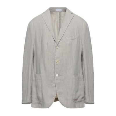 ボリオリ BOGLIOLI テーラードジャケット ドーブグレー 50 リネン 100% テーラードジャケット