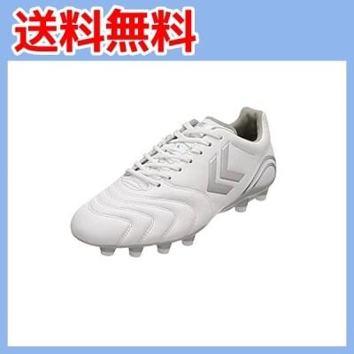 [ヒュンメル] サッカースパイク ヴォラートII SL WIDE ホワイト×シルバー (1095) 27.5 cm