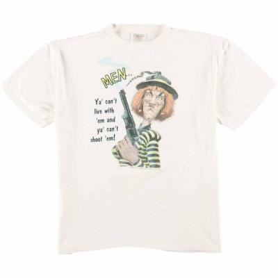 90年代 オニータ プリントTシャツ USA製 M /eaa074919