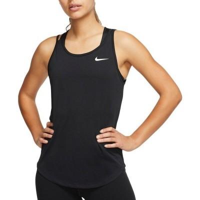 ナイキ シャツ トップス レディース Nike Women's Performance Running Tank Top Black