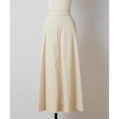 スカート シープレザー風クロススカート(0R10-8809553)