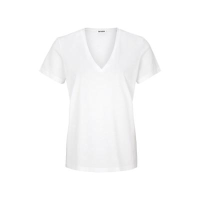 ドライコーン Tシャツ レディース トップス NILIA - Basic T-shirt - white