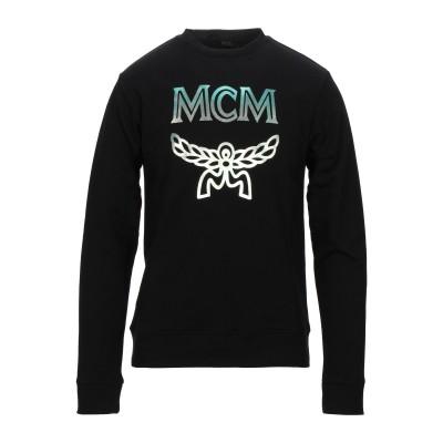 エムシーエム MCM スウェットシャツ ブラック XXL コットン 100% スウェットシャツ