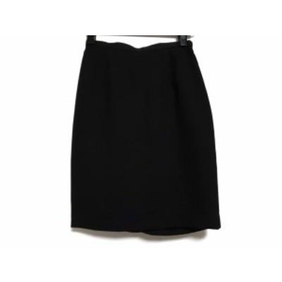 ジャスグリッティー JUSGLITTY スカート サイズ0 XS レディース 黒 フリル【中古】