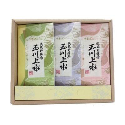 鈴木園 【のし・包装可】狭山茶「玉川上水」詰め合わせ100g×3(300g) SZK-636739