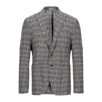 イレブンティ ELEVENTY テーラードジャケット ブラウン 50 麻 74% / ナイロン 26% テーラードジャケット