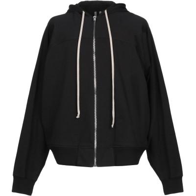 リック オウエンス RICK OWENS スウェットシャツ ブラック S コットン 100% スウェットシャツ