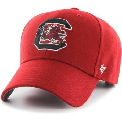 フォーティーセブン メンズ 帽子 アクセサリー '47 Men's South Carolina Gamecocks Garnet MVP Adjustable Hat