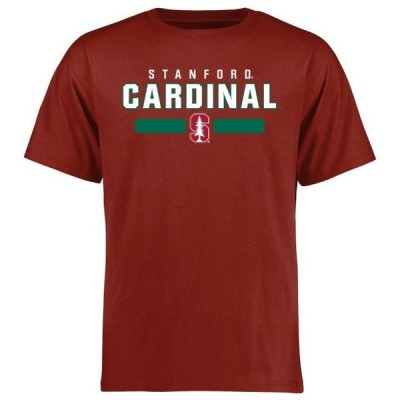 ユニセックス スポーツリーグ アメリカ大学スポーツ Stanford Cardinal Team Strong T-Shirt - Cardinal Tシャツ