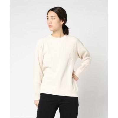 tシャツ Tシャツ JEMORGAN / サーマル ビッグワッフル クルーネック ロングTシャツ