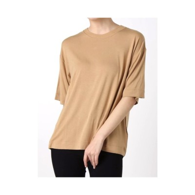 MURUA ベーシックTシャツ キャメル