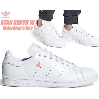 adidas STAN SMITH W V-DAY FTWWHT/FTWWHT/GLOPNK fw6227 アディダス スタンスミス ウィメンズ バレンタインデー レディース スニーカー ホワイト ピンク ハート