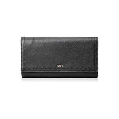 [フォッシル] 財布 LOGAN RFID FLAP CLUTCH?SL7833 ブラック
