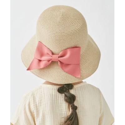 OVERRIDE / 【ミルサ】MK Washable Bd Ribbon Cape KIDS 帽子 > ハット