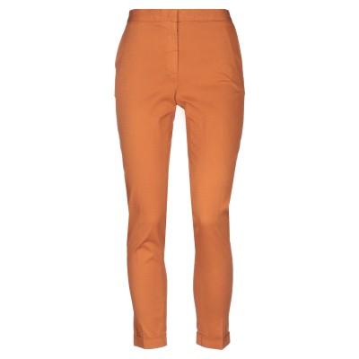 ANTONELLI パンツ あんず色 42 コットン 98% / ポリウレタン 2% パンツ