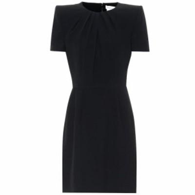 アレキサンダー マックイーン Alexander McQueen レディース ワンピース ワンピース・ドレス Short-sleeved minidress black