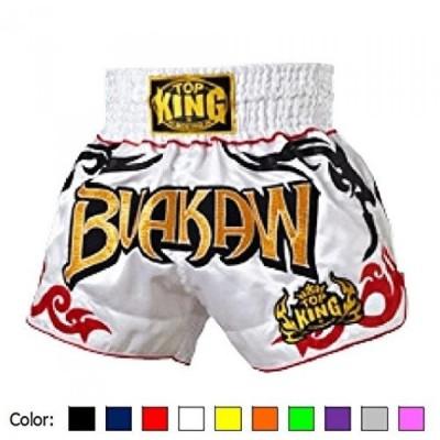 ボクシング用品 キック ボクシング総合格闘技 K1 のボクシングのトップ キング ムエタイ タイ ショーツ カラー: ブラック レッド ブルー グリーン黄色ホワイト