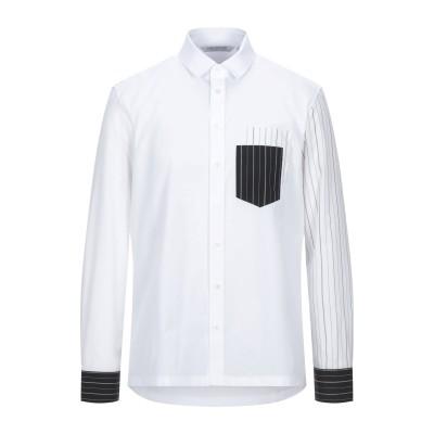 ニール・バレット NEIL BARRETT シャツ ホワイト XS コットン 100% / ポリエステル シャツ