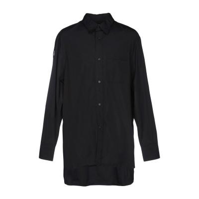 ランバン LANVIN シャツ ブラック 38 コットン 100% シャツ